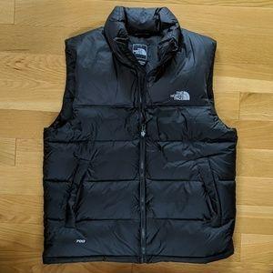 The North Face Nuptse Down Mens Vest M Black